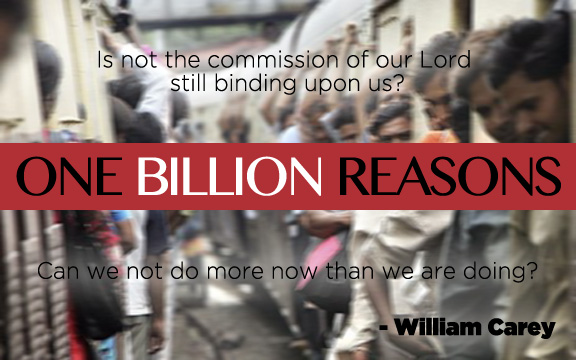 One Billion Reasons